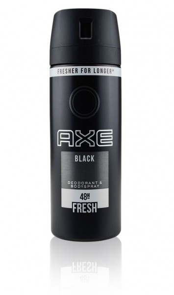 44650_1_150ml_Axe_Black_Aromatisch_Würzig_Bodyspray_Deodorant_0%_Aluminium