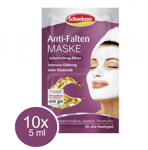 44683_10x_5ml_Schaebens_Anti_Falten_Gesichtsmaske_Maske_Sofort_Lifting_Effekt_Straffung