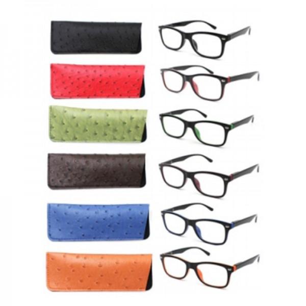 Modische Lesebrille Damen/Herren verschiedene Farben wählbare Dioptrien Brille