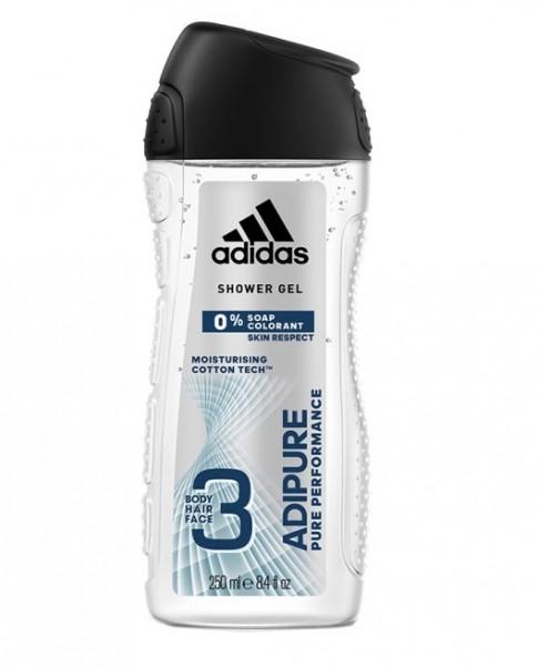 44658_250ml_Adidas_Duschgel_Shower_Gel_3in1_Adipure_moisturising_cotton_tech