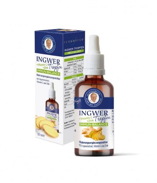 45489_Schuhbeck_Ingwer_Tropfen_50ml_Ingwer_Extrakt_Vitamin_C_Zink_Immun_Balance