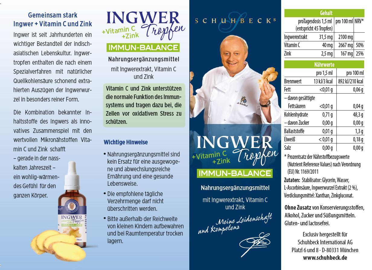 Schuhbeck Ingwer