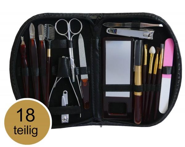 44623_18_tlg_Maniküre_Set_Nagelschere_Pediküre_Make-Up_Reise_Nageletui